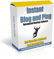 Instant Blog and Ping